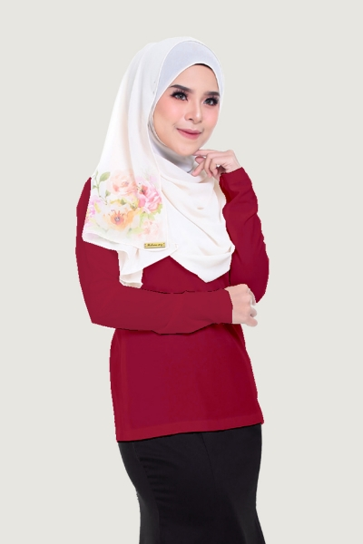 Basic Blouse Maroon
